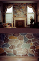 Faux stone to match furniture